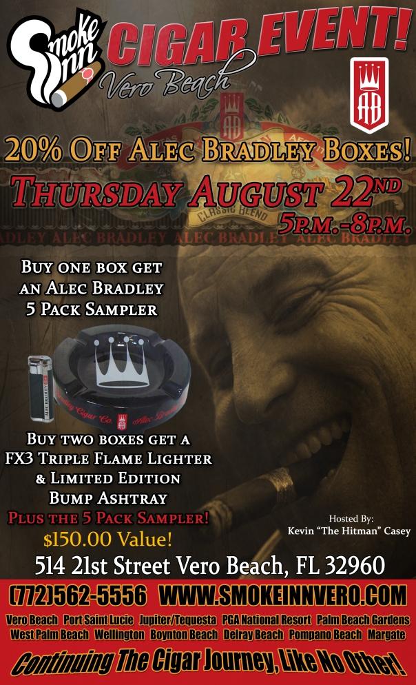Alec Bradley Cigar Event-Vero Beach copy