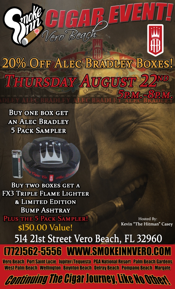Alec Bradley Cigar Event-Vero Beach copy
