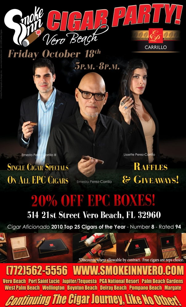 EPC Cigar Party-Smoke Inn Vero Beach