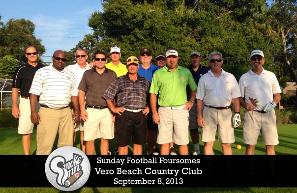 Sunday Football Foursomes-Vero Beach Country Club