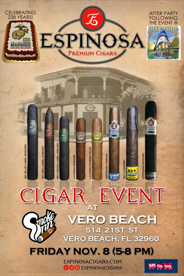 Espinosa Cigar Event-Smoke Inn, Vero Beach