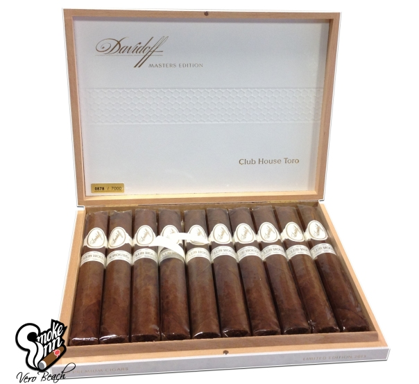 Davidoff Masters Edition Club House Toro available at Smoke Inn Vero Beach copy
