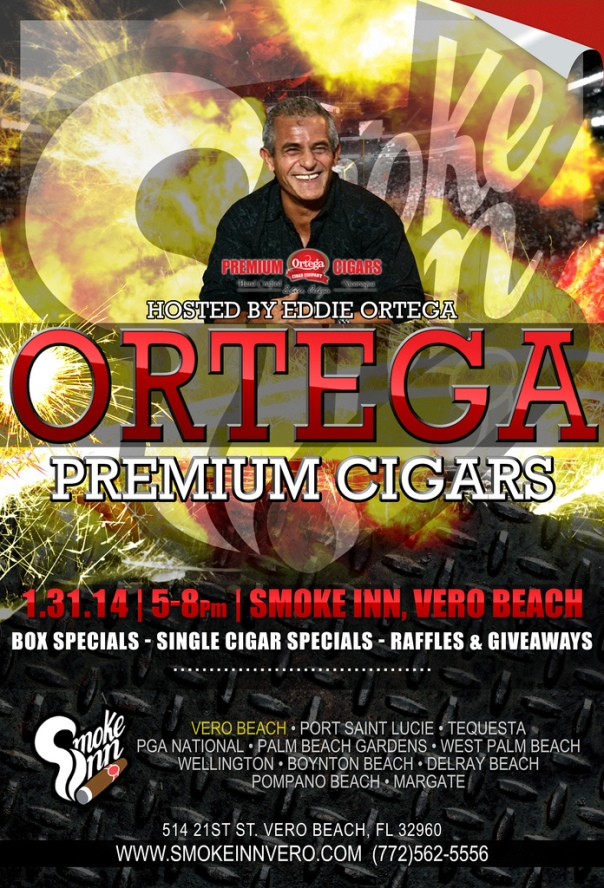 Ortega Cigar Event-Smoke Inn Cigars, Vero Beach