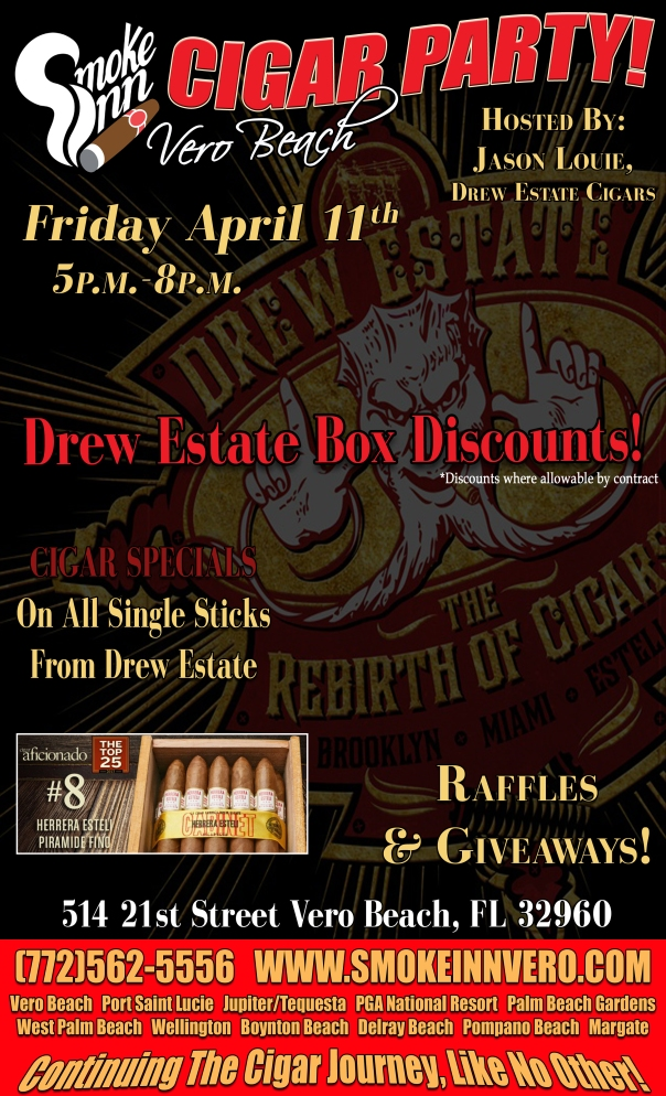 Drew Estate Cigar Party