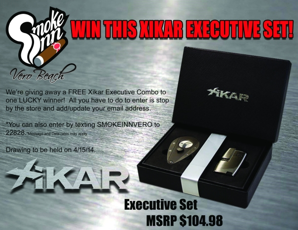 Xikar Executive Combo Giveaway copy