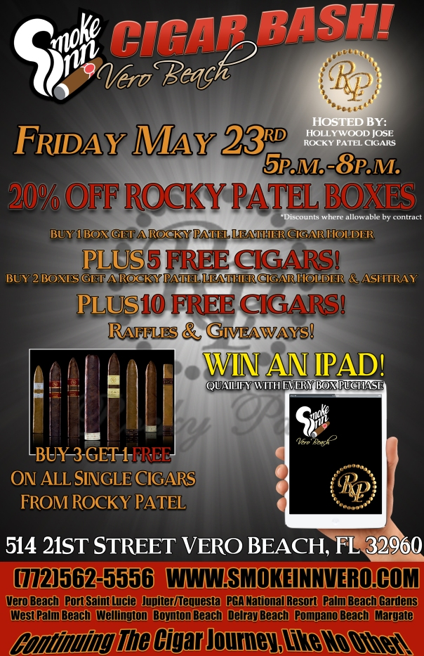 Rocky Patel Cigar Bash-Smoke Inn Cigars, Vero Beach
