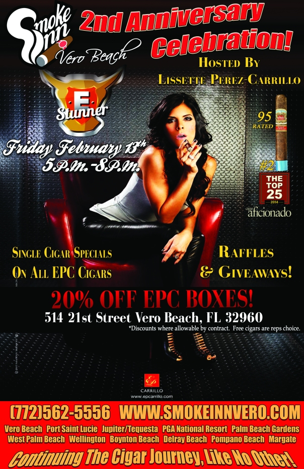 EPC Cigar Event hosted by Lissette Perez-Carrillo