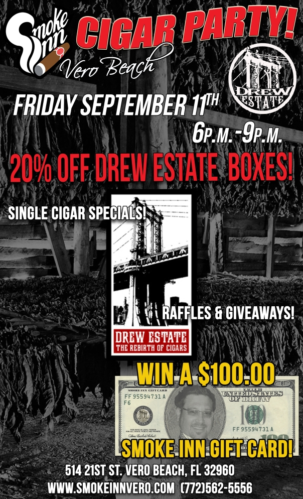 Drew Estate Cigar Event-Smoke Inn Cigars Vero Beach