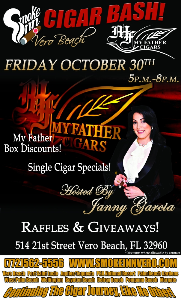 My Father Cigar Bash hosted by Janny Garcia