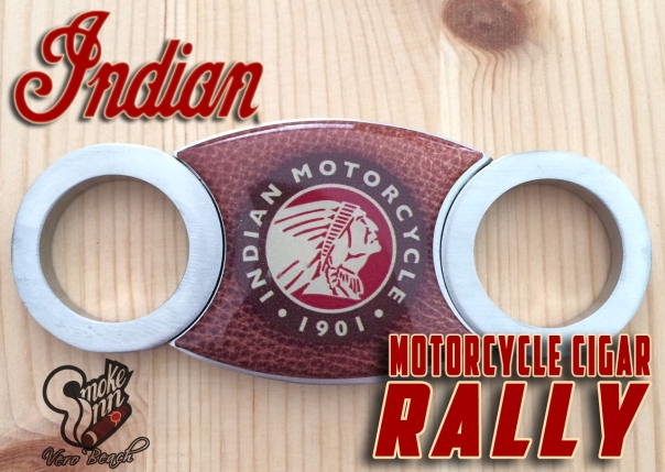 Indian Motorcycle Cigar Cutter-Smoke Inn Vero Beach copy
