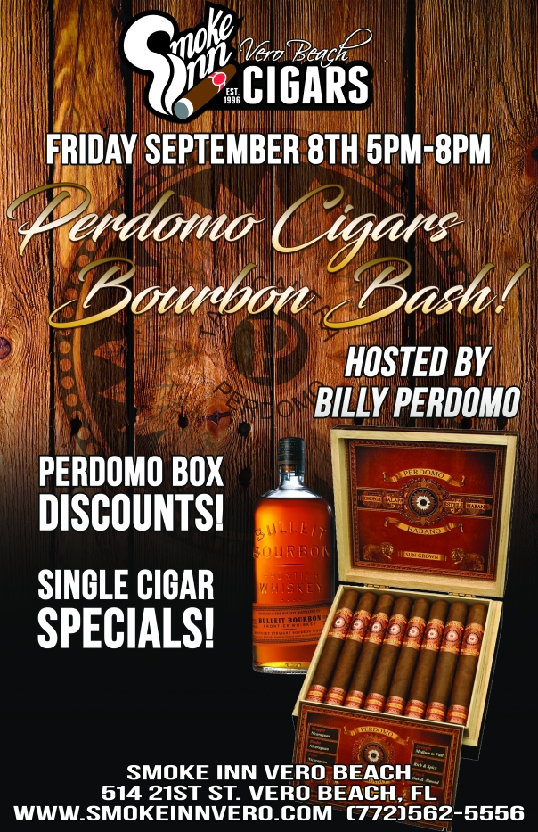 Perdomo Bourbon Bash copy