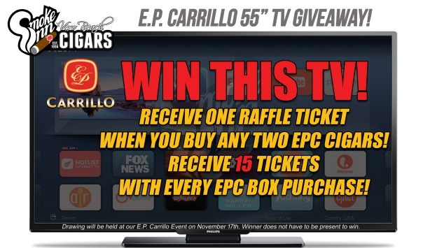 EPC TV Giveaway Shelf Talker copy