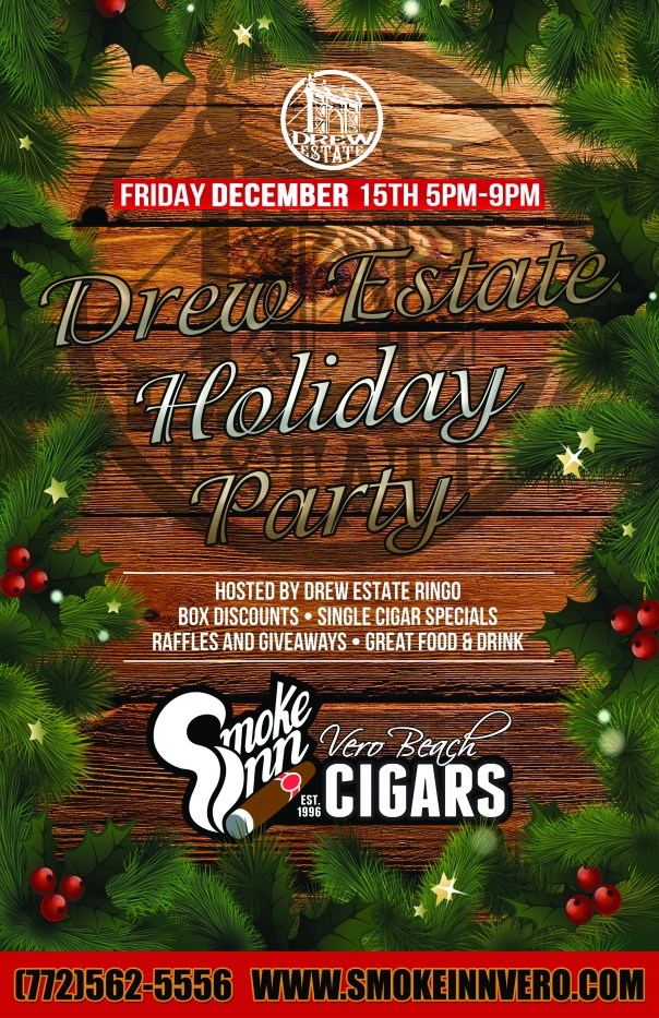 Drew Estate Holiday Party 2017 11x17