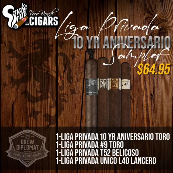 Liga Privada 10th Anniversary copy